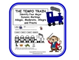 FUN MUSIC TEMPO TRAIN WORKSHEET!!!- Great for Assessment &
