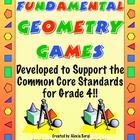 FUNdamental Geometry Games