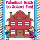 Fabulous Back to School Fun
