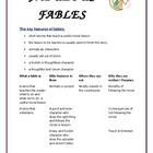 Fabulous Fable Activities