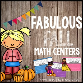 Fabulous Fall Math Centers