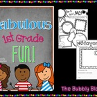 Fabulous First Grade Fun---Fun for the first week of school
