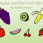 Fabulous and Fun Fruit Clip Art