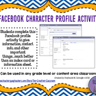 Facebook Character Profile Activity