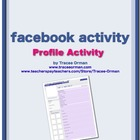 Facebook Profile Character Sketch Any Novel Activity