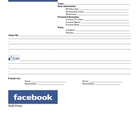 Facebook Profile Page Character Analysis