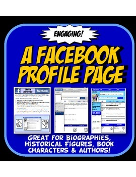 Facebook Profile Page History  or Reading Character Analys