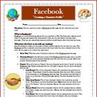 Facebook Reading Comprehension Character Profile Activity 