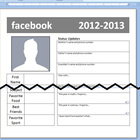 Facebook Student Information Form