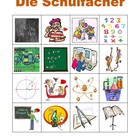 Facher (School subjects in German) Bingo game