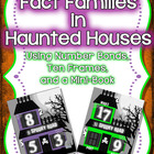 Fact Families in Haunted Houses - Using Number Bonds & Ten