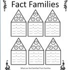 Fact Families/Missing Addend/Open-Ended Worksheets