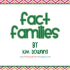 Fact Family Activity
