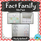 Fact Family House Activity Template & Rap