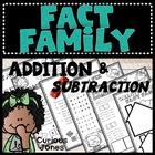 Fact Family Poem, Games, Worksheets and Center Activities