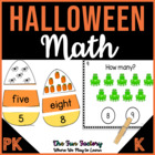 Halloween ~ Fact Family Puzzles 1-10
