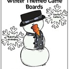 Fact Practice with Winter Themed Game Boards!