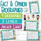 Fact and Opinion Biographies