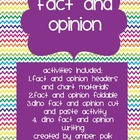 Fact and Opinion {FREEBIE}