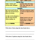 Fact and Opinion Mini Lesson Handout