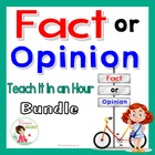 Fact and Opinion for Upper Elementary: Teach It in an Hour
