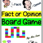 Fact or Opinion Board Game (Great Center or Workstation!)