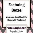 Factoring Boxes - Review of GCF, Two & Three Term Techniques