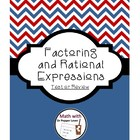 Factoring and Rational Expressions