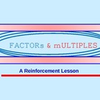 Factors Multiples Powerpoint Lesson
