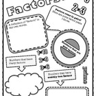 Factors Poster! A Fun Way To Encourage Conceptual Understanding
