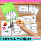 Factors and Multiples {Math Workshop Activity}