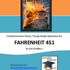 Fahrenheit 451 Study Guide Questions - Entire Novel