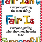 Fair Isn't Always Equal Poster