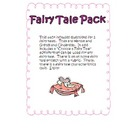 Fairy Tale Activity Pack