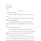 Fairy Tale Plot Study Lesson Plan
