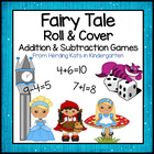 Fairy Tale Roll &amp; Cover Addition &amp; Subtraction Games!