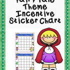 Fairy Tale Theme Incentive Sticker Chart