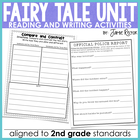 Fairy Tale Unit to Teach the Common Core Standards - 25 Ac