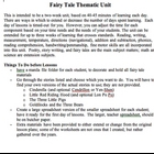 Fairy Tale Unit