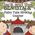 Fairy Tale Writing Center (Jack and the Beanstalk)