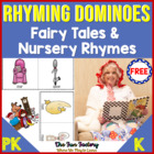 Fairy Tale and Nursery Rhyme Rhyming Dominoes