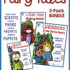 Fairy Tales MEGA Pack (150 pgs Masks, Scripts and Prompts)