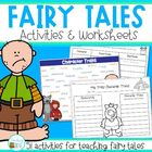 Fairy Tales: activity sheets, comprehension and writing ac