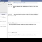 Fakebook-Biography/Event Project Lesson Plan Worksheet