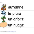 Fall / Automne Flashcards FRENCH