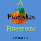 Fall / Autumn: Fun Fingerplay!!