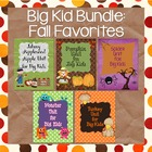 Fall BUNDLE for Big Kids