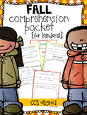 Fall Comprehension {for Kinders!}