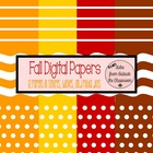 Fall Digital Paper Pack Freebie
