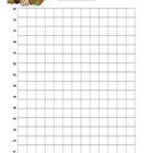 Fall Fluency Graph, Primary